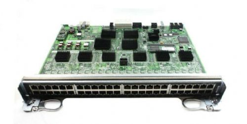 Dell Force10 C300 48Ports 1000Base-T Line Card RJ45 Ethernet LC-CB-GE-48T P5WVH
